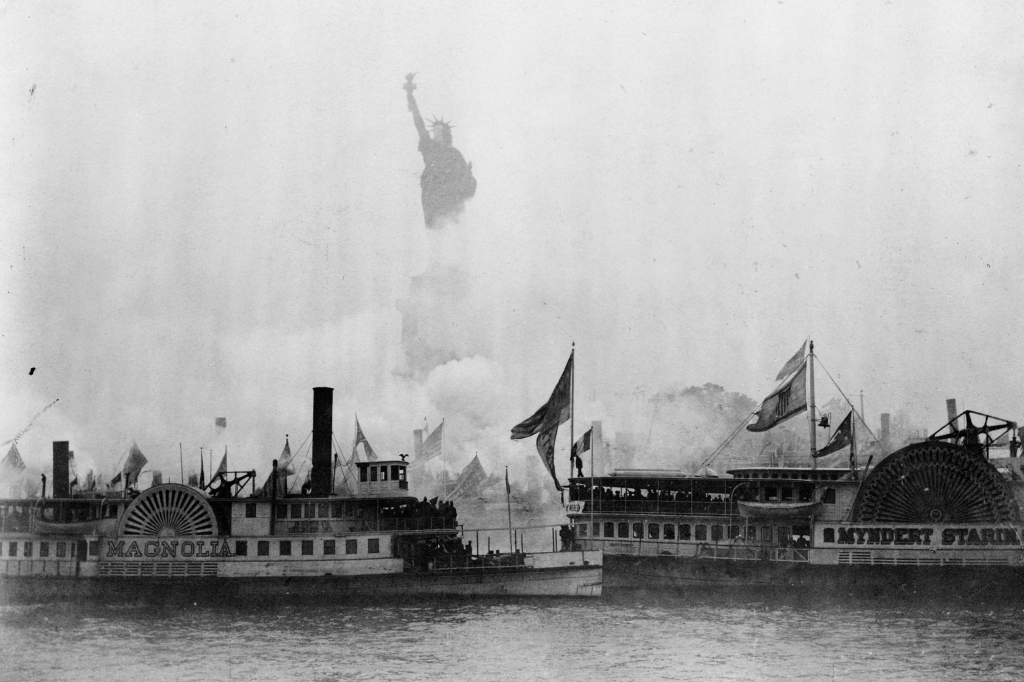 Statue of Liberty Unveiling 1886