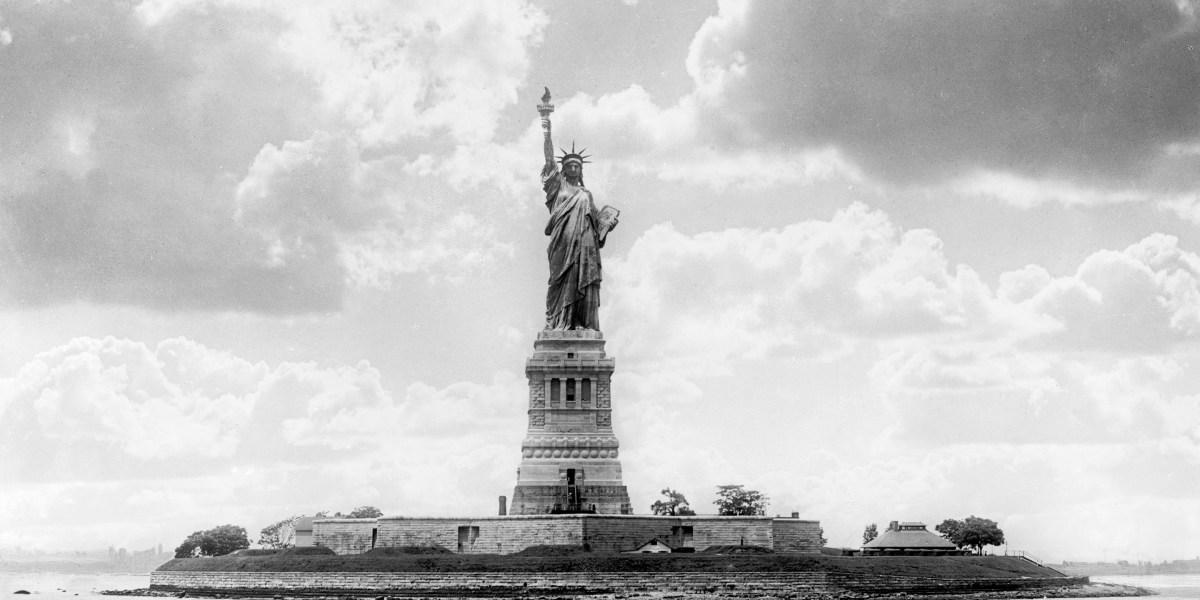 The Statue of Liberty's origin in photos