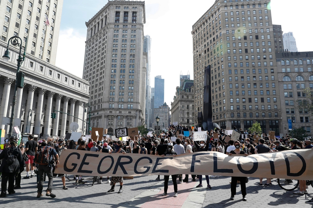 2020 George Floyd death_BLM protest NYC