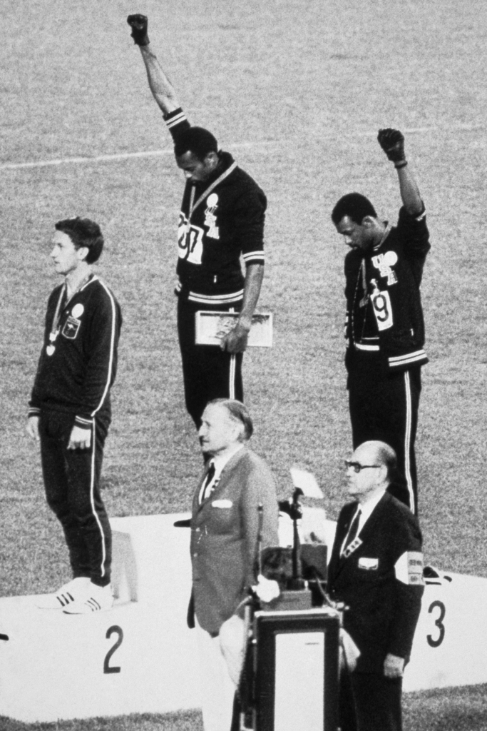 1968 Olympic Games Black Power salute Smith and Carols