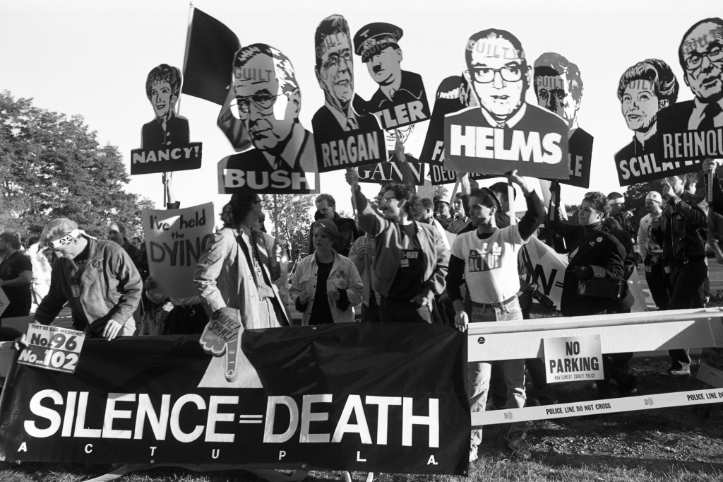 1988 Act-Up FDA protest
