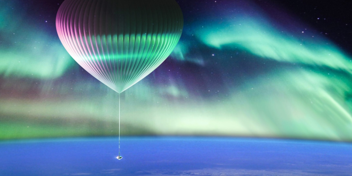 web Space Perspective Full Balloon Aurora 4 scaled 1 - This company plans to offer balloon rides from Alaska to the edge of space