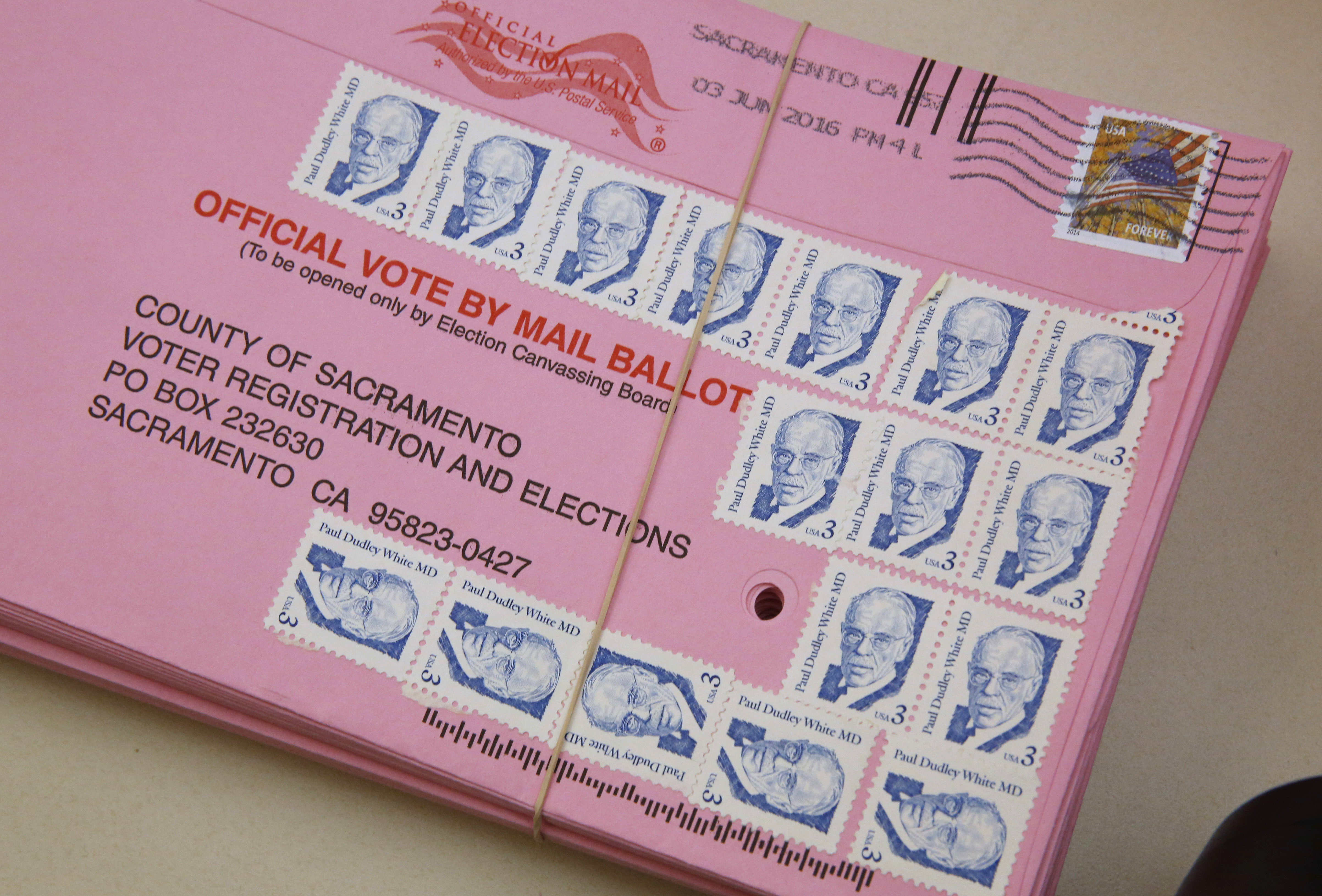 More than 100,000 California mail-in ballots were rejected because of mistakes thumbnail