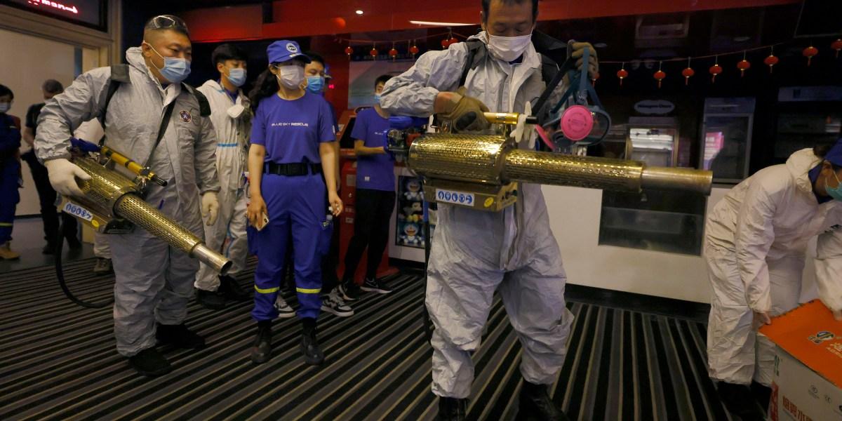 Movie Theaters As Coronavirus Threat