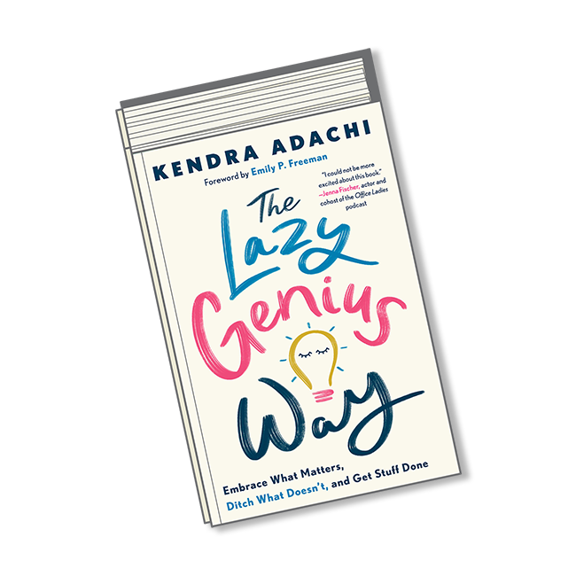 August Books-The Lazy Genius Way