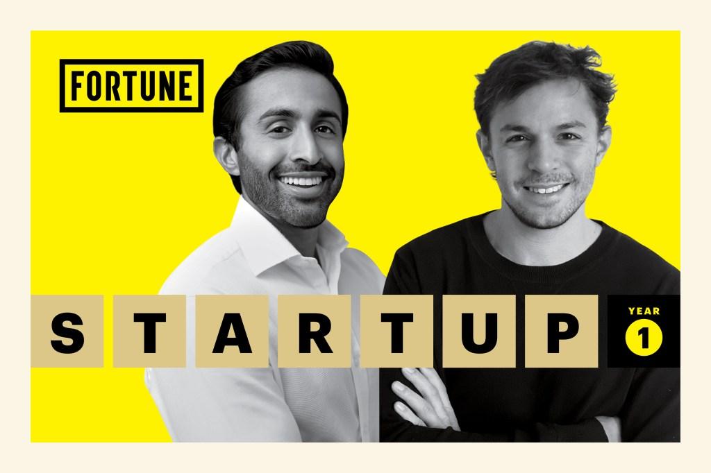 "Tomorrow Health""s founders. Vijay Kedar (left) and Gabriel Flateman ."
