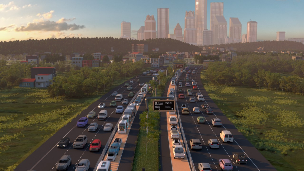 'Road of the future' to link Detroit and Ann Arbor with 40 miles of driverless cars and shuttles thumbnail