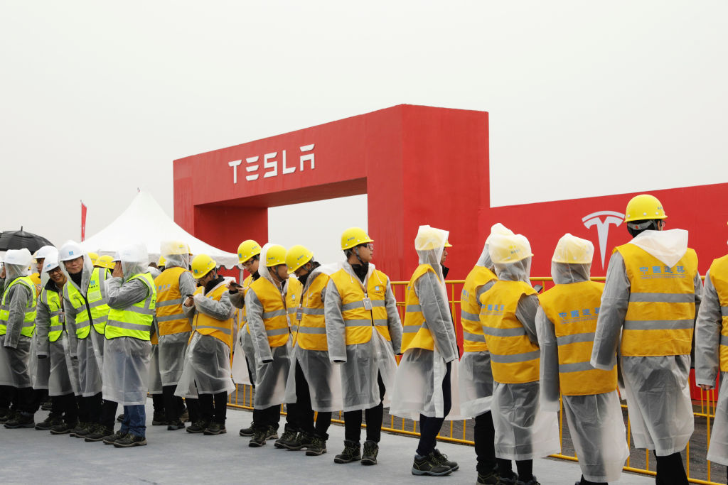 A key indicator of Tesla's China business fell 24% last month thumbnail