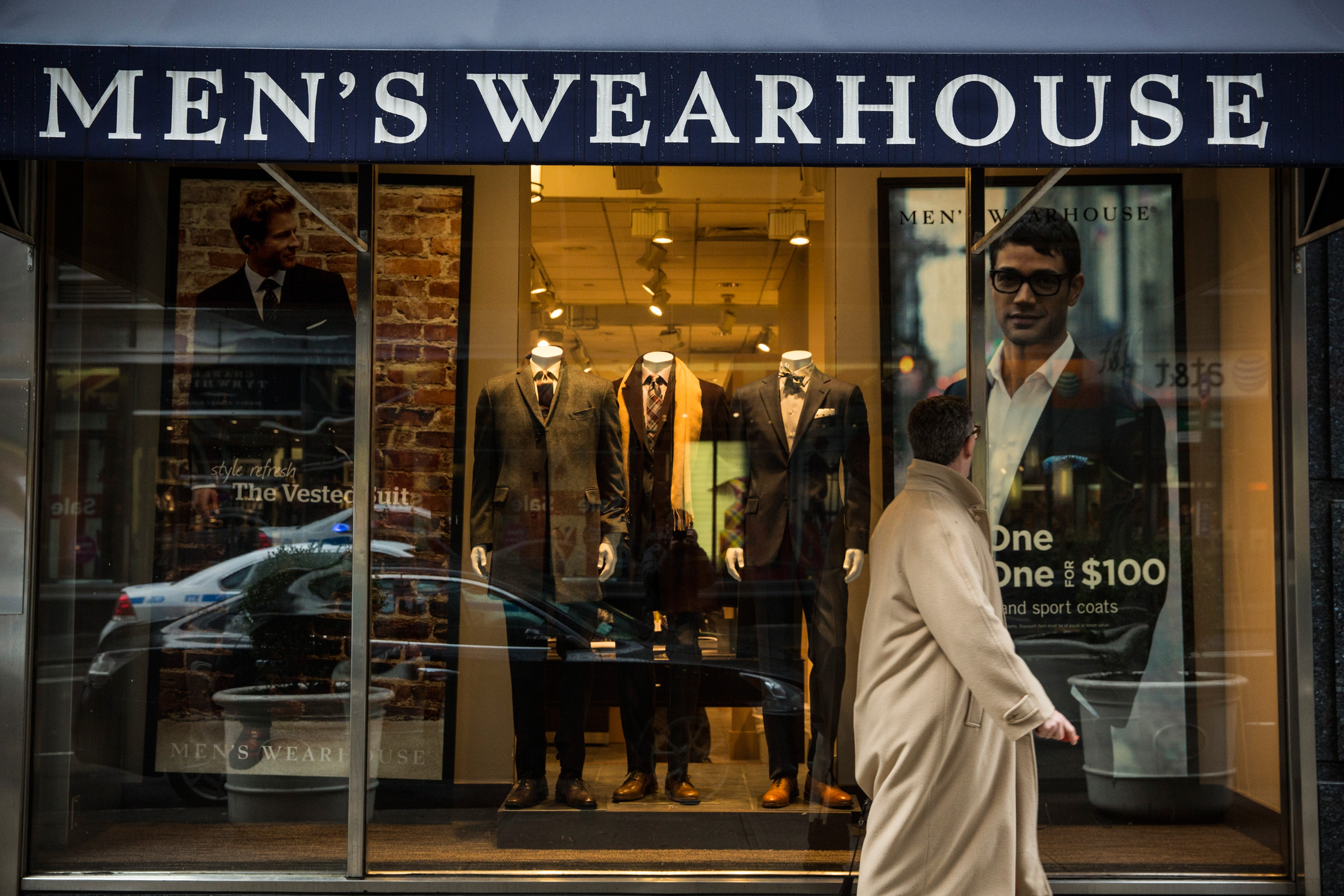 Men's Wearhouse and Jos. A. Bank parent company is the latest retailer to seek bankruptcy protection thumbnail