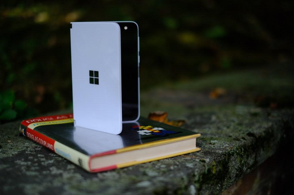 microsoft surface duo folding phone