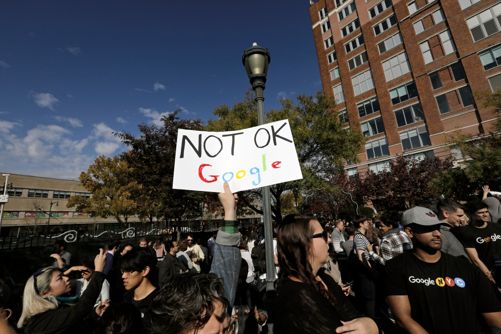 Google Staff Walkout To Protest Sexual Misconduct