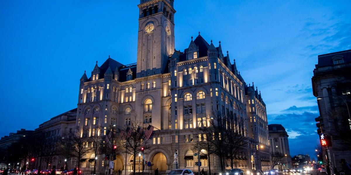 Trump eyes hosting Election Night party at his DC hotel thumbnail