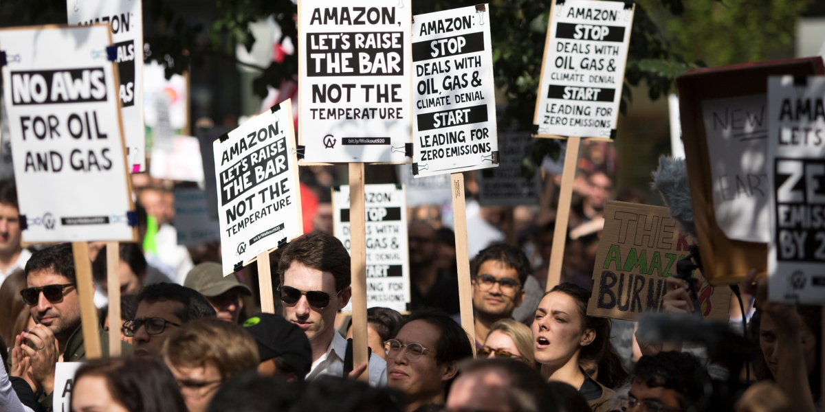 fortune.com: Amazon employees will rally for climate justice on October 17