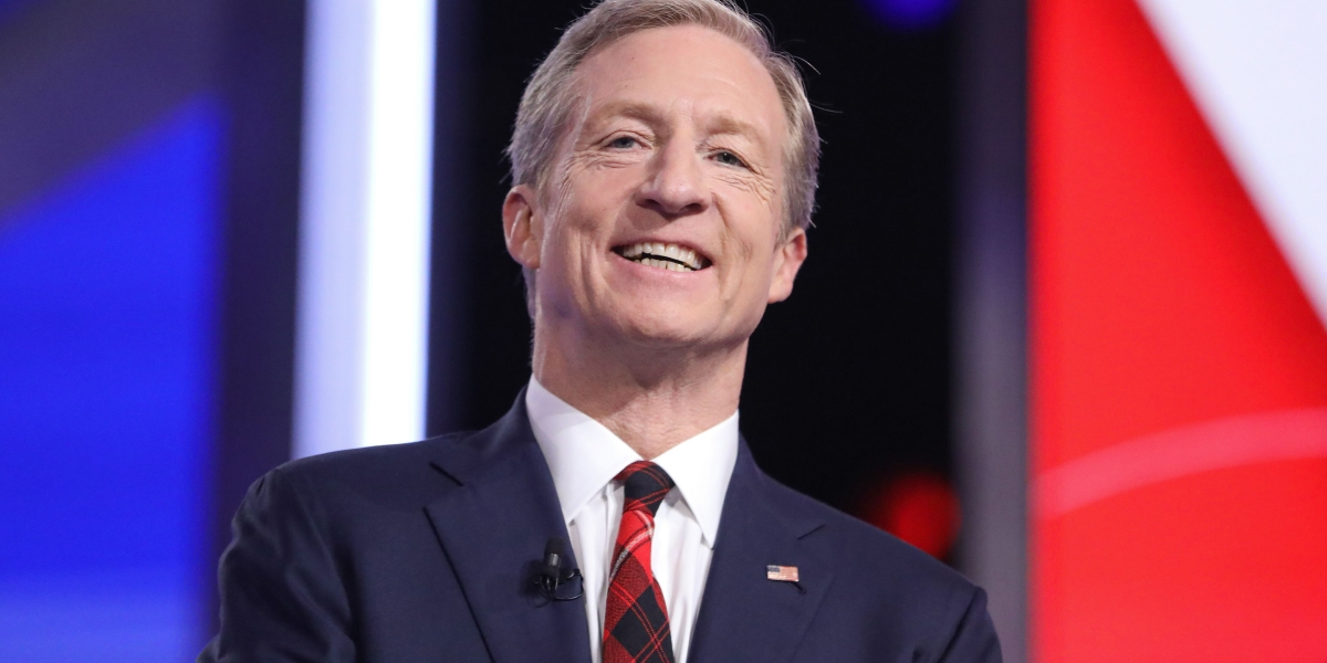 Tom Steyer thinks business is missing a big opportunity—and that Trump has done 'nothing but whiff' thumbnail