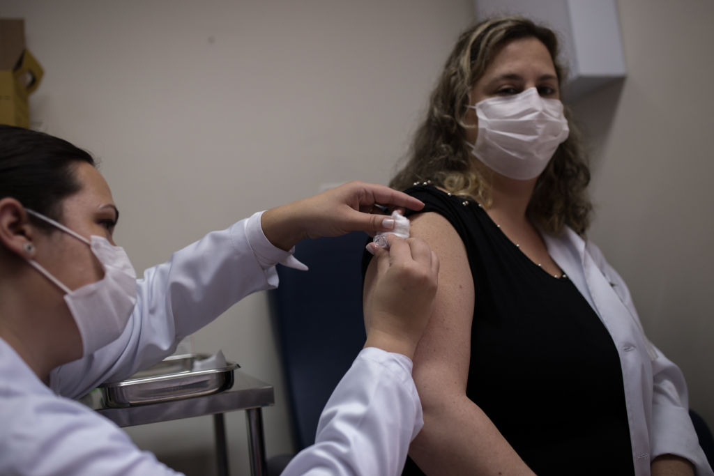 Coronavirus - Corona vaccine being tested in Brazil
