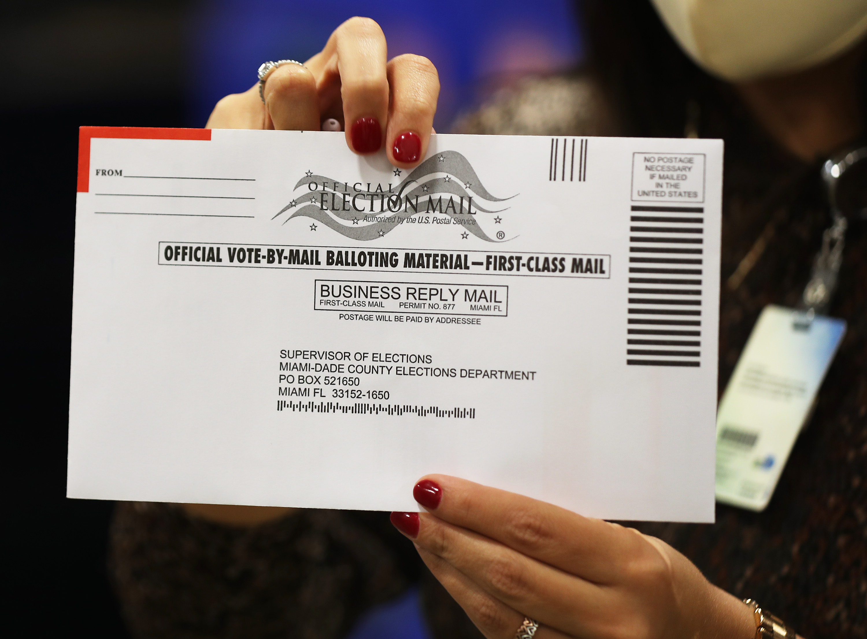 A man caught committing ballot fraud in Florida proves mail voting is secure thumbnail