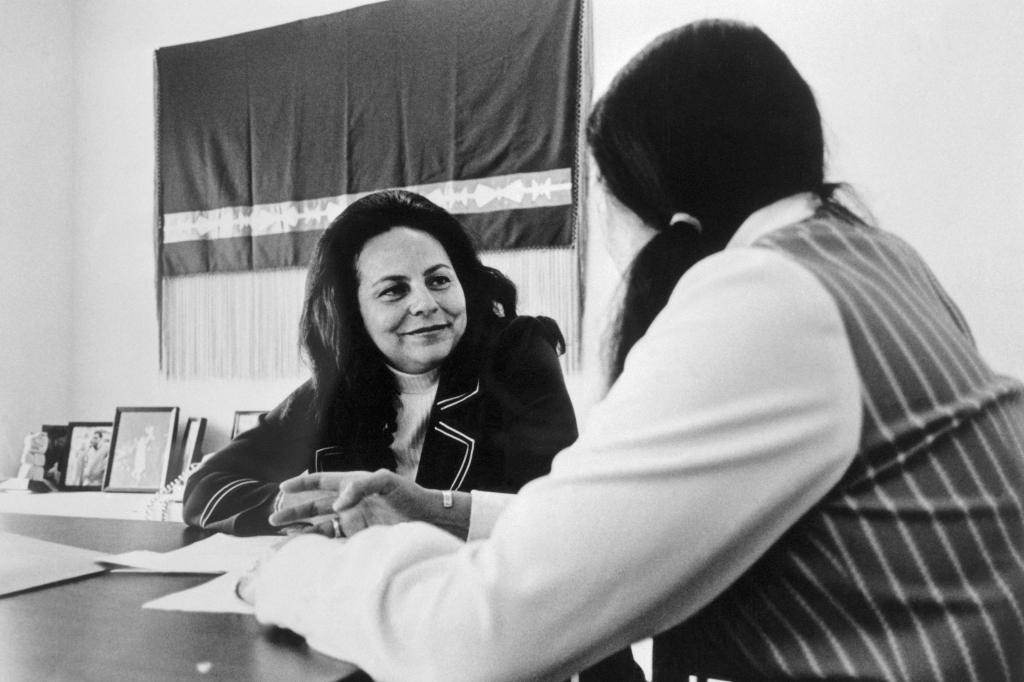 11.04.2020.  Paved the Way for Harris-LaDonna Harris-GettyImages-515108128