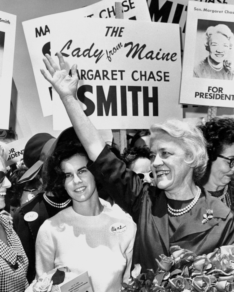 11.04.2020.  Paved the Way for Harris - Margaret Chase Smith - Getty Images - 97287484