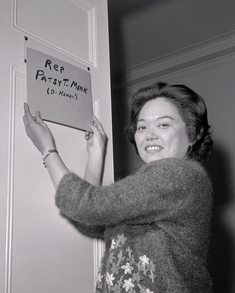 11.04.2020.  Paved the way for Harris-Patsy Mink-GettyImages-515492724