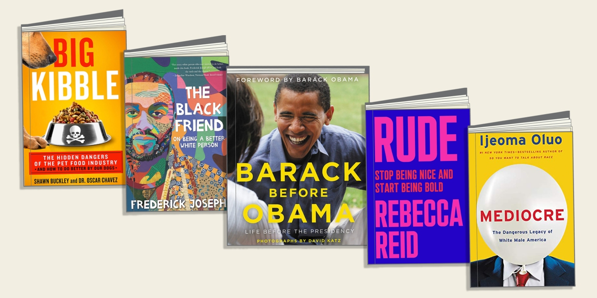 5 new books to read in December