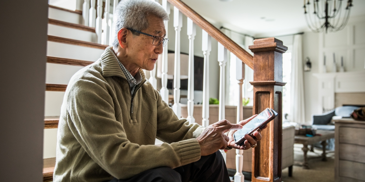 'Technology is the new toilet paper' for seniors facing the pandemic