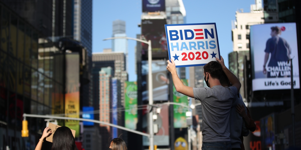 How the business world is reacting to President-elect Biden's victory