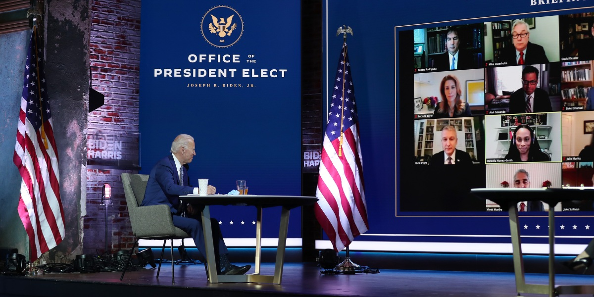 Biden unveils COVID-19 task force that is 38% female and 69% underrepresented minority thumbnail