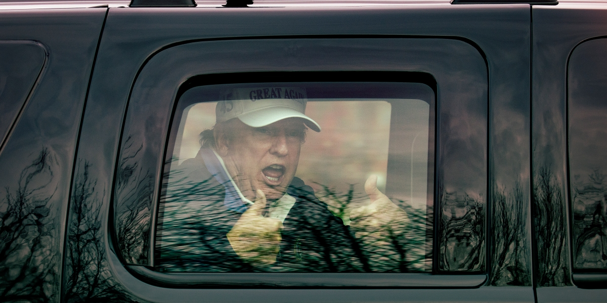 Remote and deluded: Trump's post-election actions reveal a mad-monarch state of mind thumbnail