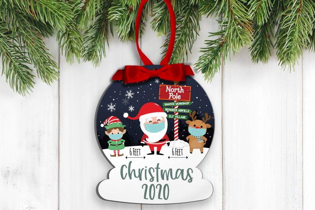 Corona Ornament, 2020 Christmas Ornament 2020 Ornament