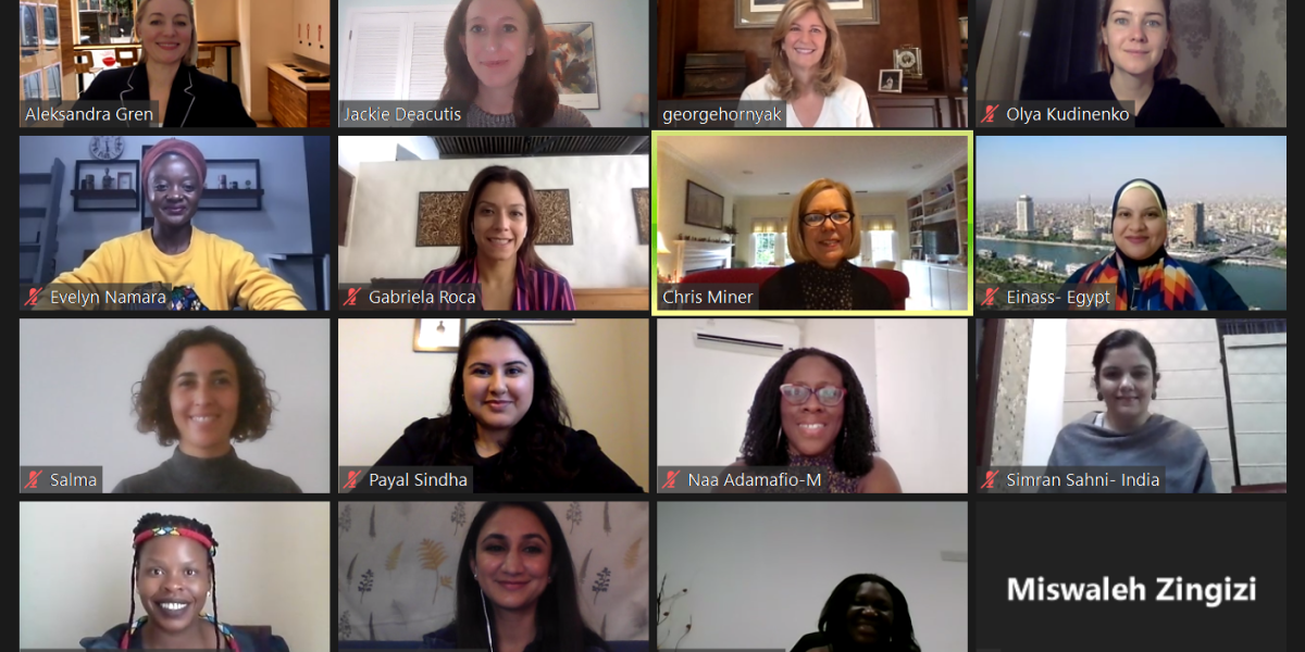The Fortune-State Department Global Women's Mentoring Collaboration goes virtual thumbnail