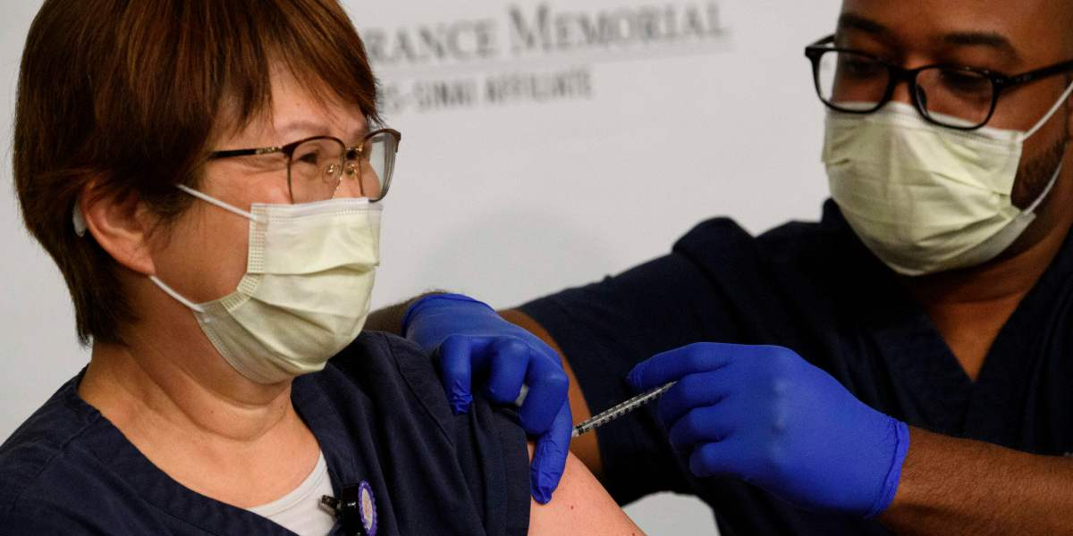Digital patient vaccination records could be the foundation for a 'vaccine passport'