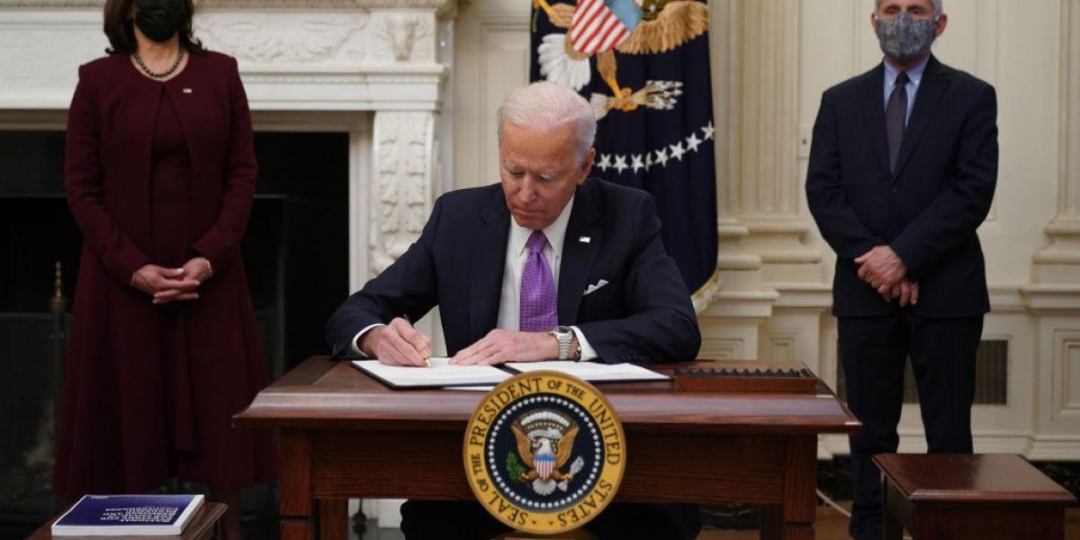 President Biden's well being care dash begins