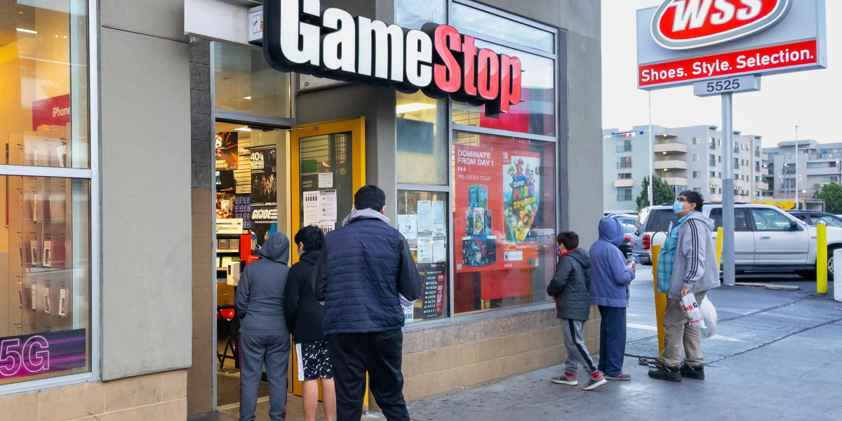 The epic GameStop short squeeze continues to roil global markets—even Bitcoin is off thumbnail