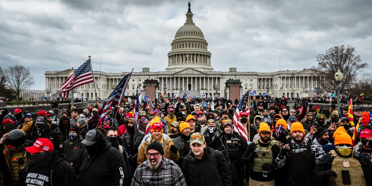 Relating to the Capitol riots, we see issues otherwise