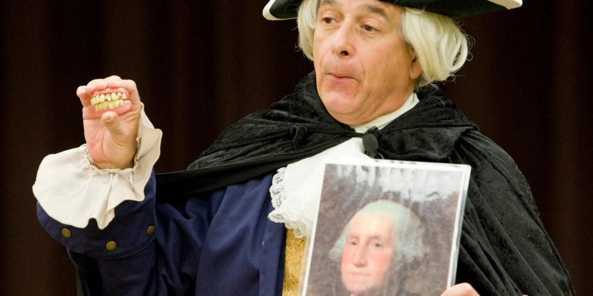 What George Washington's teeth can teach us about predisposition thumbnail