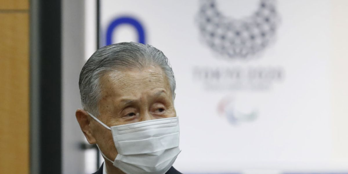 Head of Tokyo Olympic committee says it needs to restrict ladies because they talk too much thumbnail