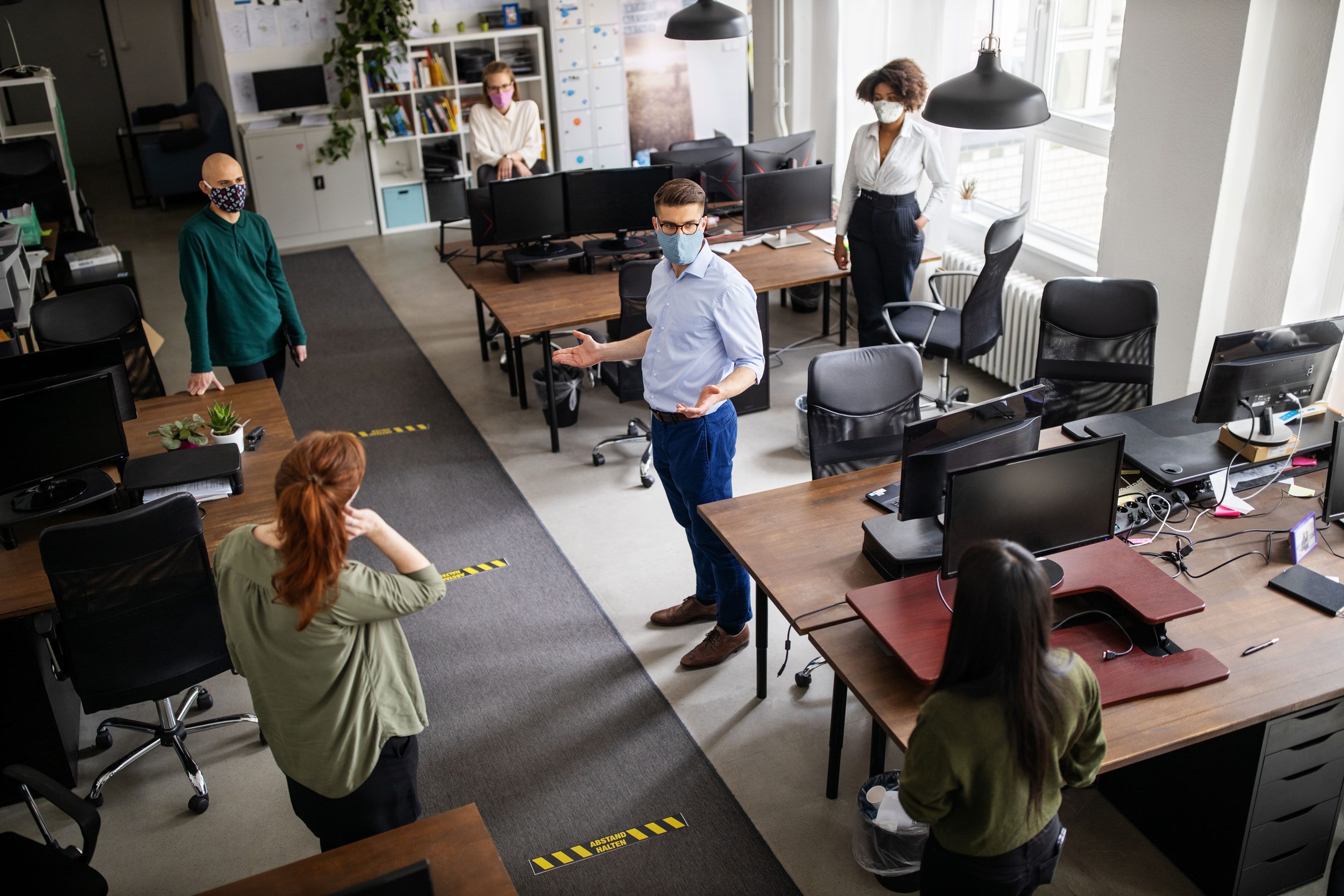 Return to work: Steps to prepare for the post-COVID office | Fortune