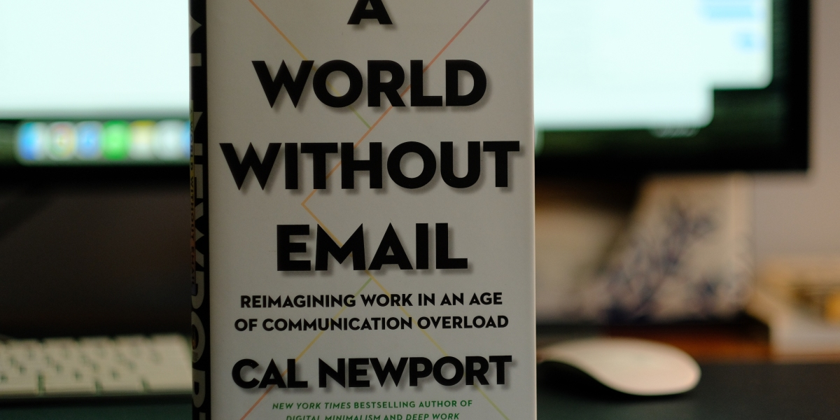 Can we really banish email from the workplace? Author Cal Newport says yes