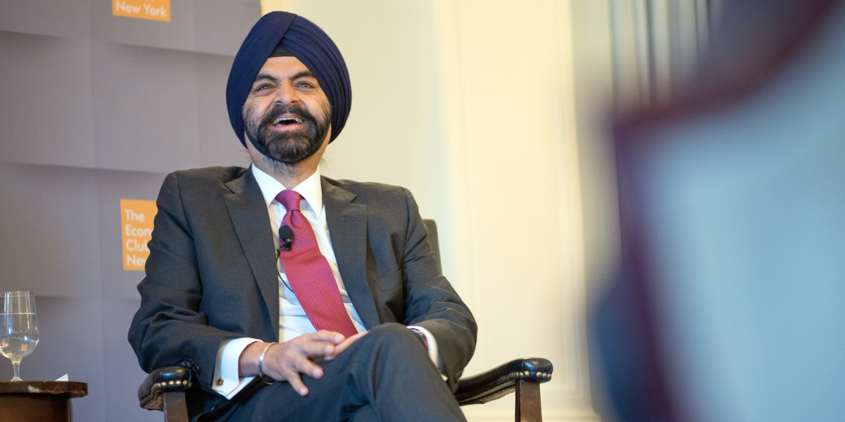 The wit and knowledge of Mastercard's Ajay Banga thumbnail