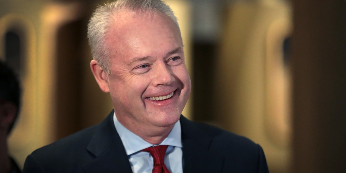 Starbucks CEO Kevin Johnson said the pandemic has strengthened the company