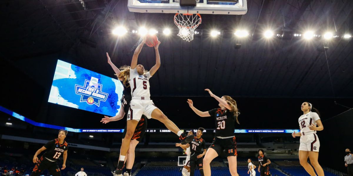 Weight rooms, drinks and the 'March Madness' brand: how NCAA women's basketball is changing