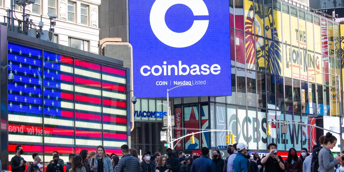 Coinbase shares are popping again thumbnail
