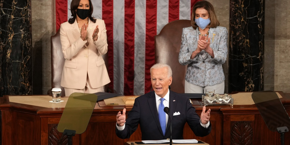 The dual symbolism of Harris and Pelosi's history-making night thumbnail