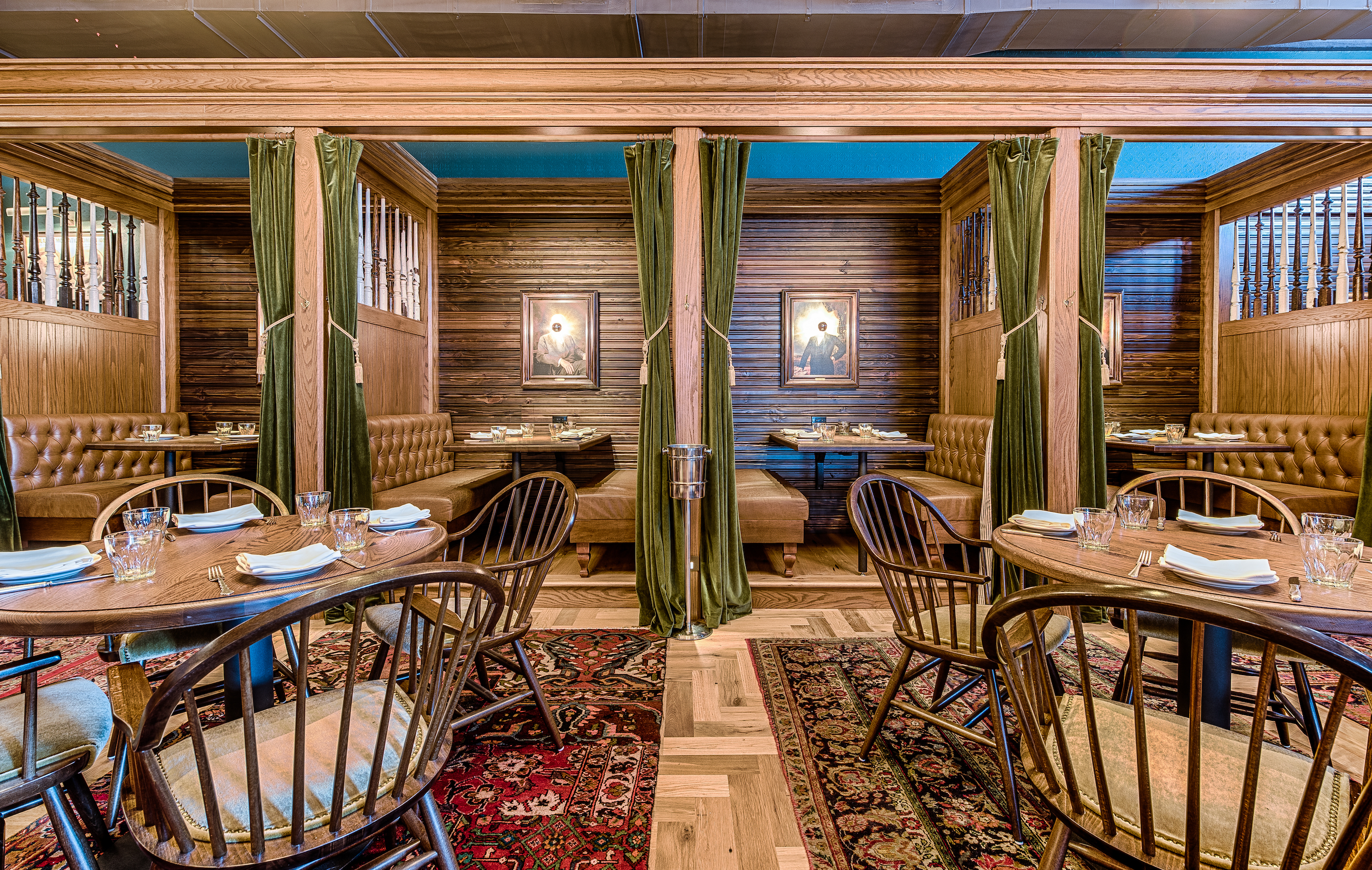 St. Anselm is an American tavern with a particular focus on grilled meats; steak is a specialty here.