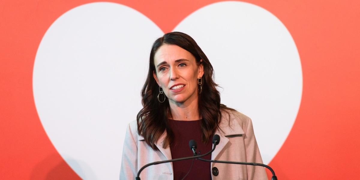 Jacinda Ardern is the head of New Zealand's Fortune list of the world's greatest leaders