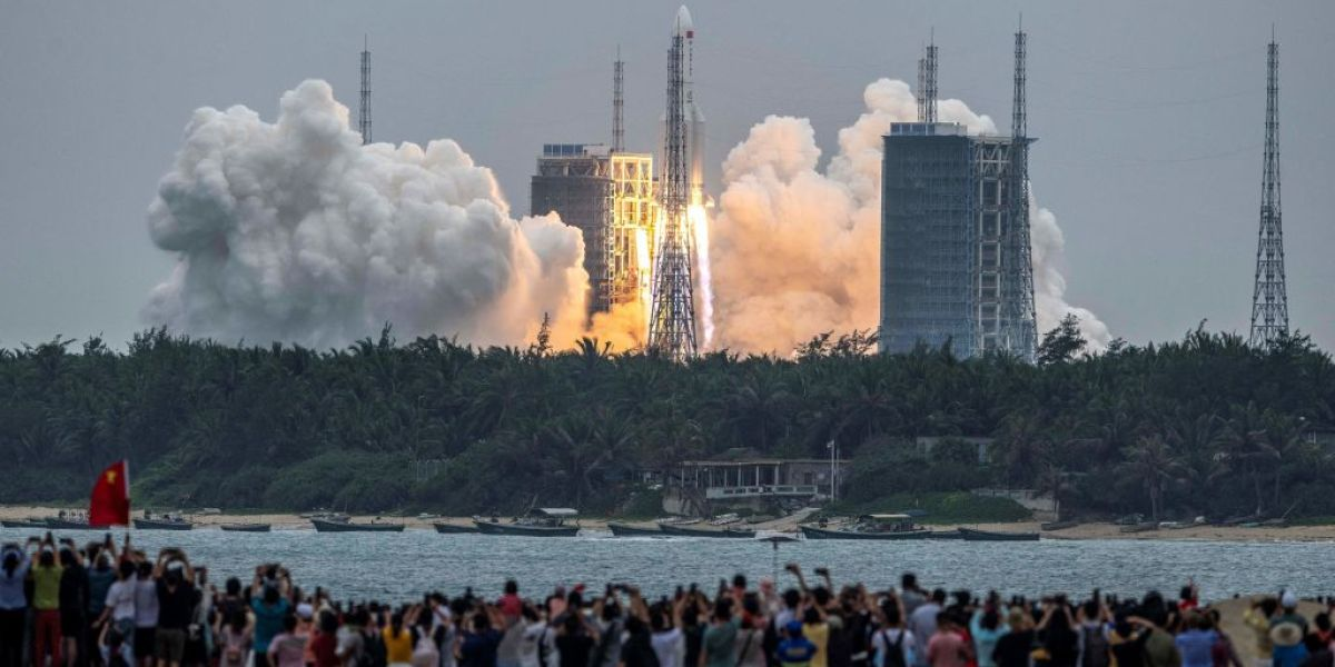 Debris from China's 21-ton rocket is crashing toward Earth—but no one knows where it will land thumbnail