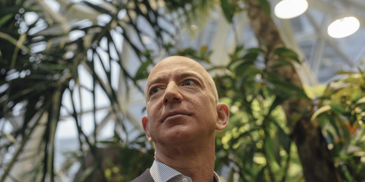 Amazon Unbound: Brad Stone's new book about Jeff Bezos 'recent years won't change your mind