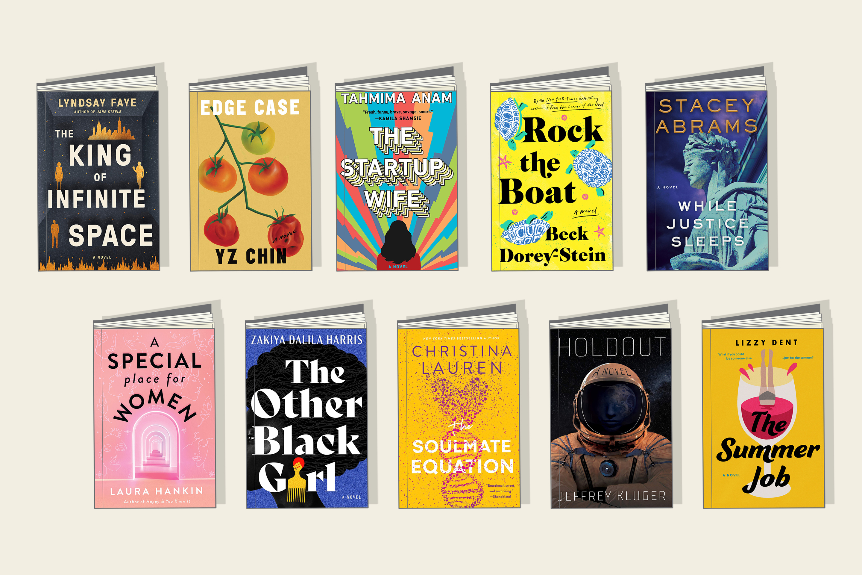 20 entertaining new books to read this summer   Fortune