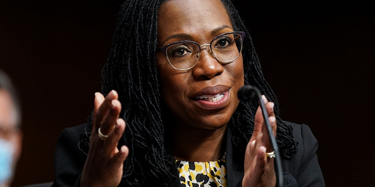 She could be the first Black female on the Supreme Court thumbnail