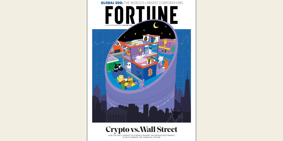 Fortune's first NFT cover is a live digital experiment, and it's selling out